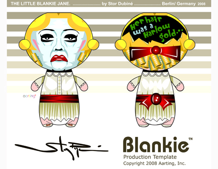 The Little Blankie Jane